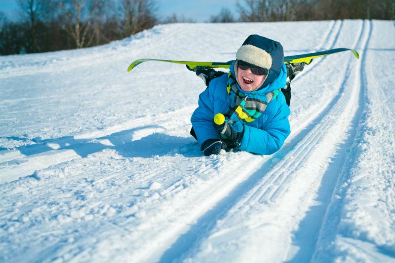 lezioni di sci per bambini a falcade