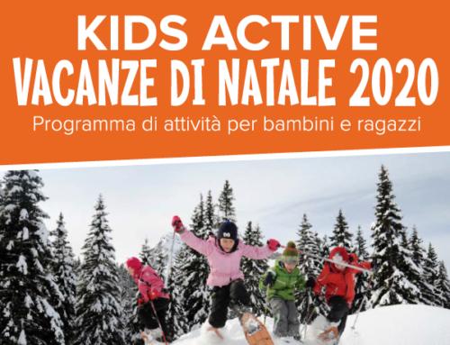 KIDS ACTIVE – Vacanze di Natale 2020